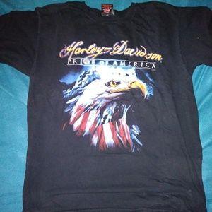 Harley Davidson American Eagle Tee